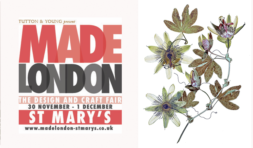 Made London Passiflora red